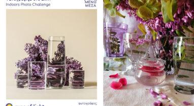 Διαδικτυακή δράση «Φωτογραφίζω στο Σπίτι – Indoors Photo Challenge» (2ος κύκλος)