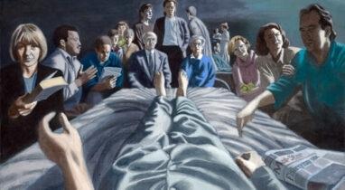 Robert Pope: Το ηχηρό μήνυμα των καλλιτεχνών με καρκίνο προς τους θεραπευτές και φροντιστές τους
